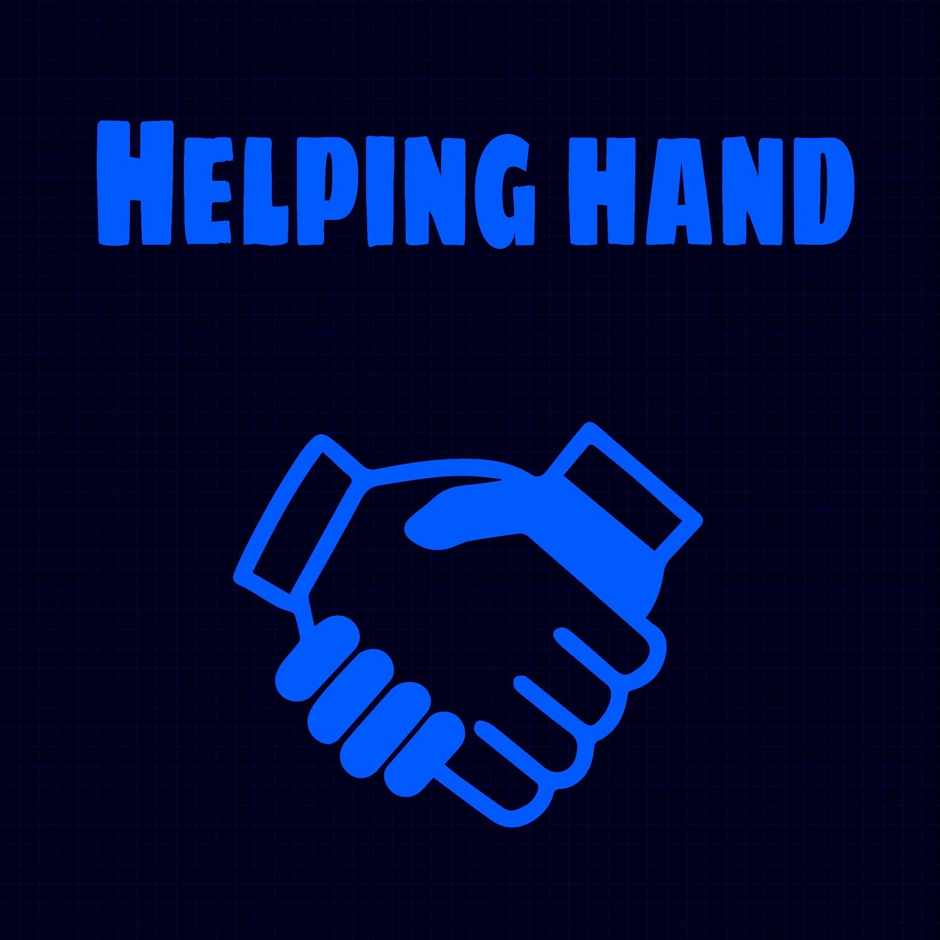 Helfende Hand im Handwerk